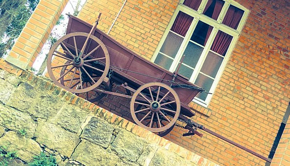 Wagon Carriage Old Past Historical Antique