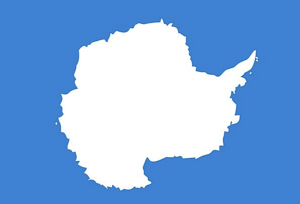 Antarctica Standard Graham Bartram Flag Symbols Ci