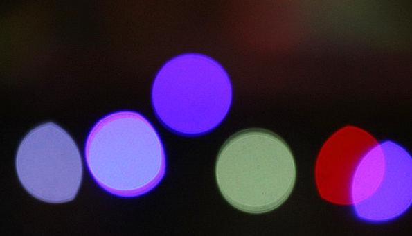 Bokeh Nonconcrete Lights Illuminations Abstract Bl