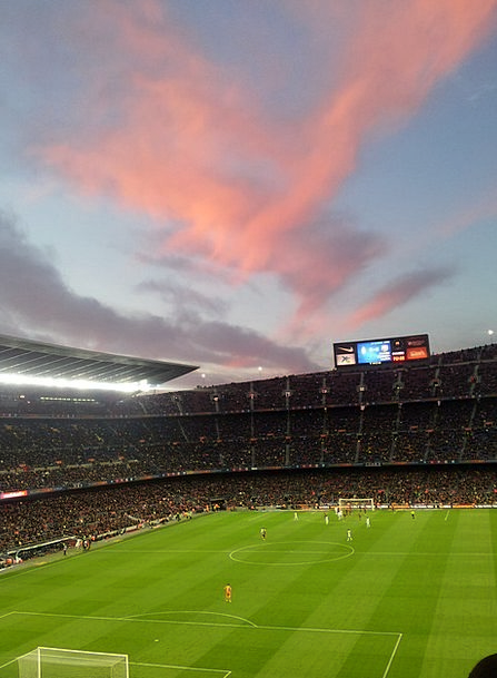 Stadium Arena Vacation Ball Travel Camp Nou Footba
