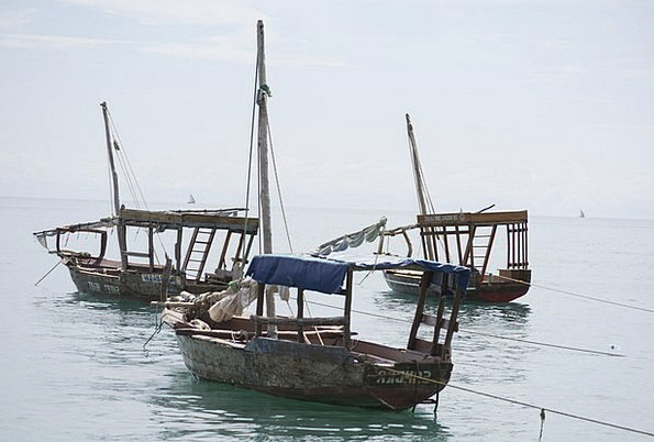 Dhow Boats Africa Tanzania