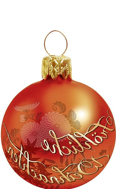 Graphic Explicit Design Project Christmas Ornament