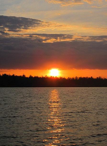 Sunset Sundown Vacation Understand Travel Water Aq