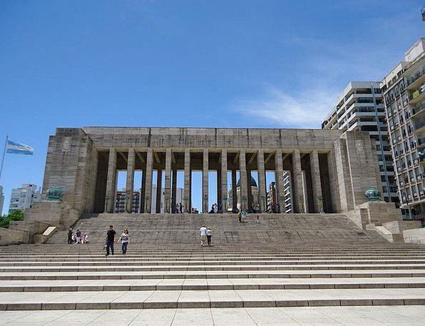 National Flag Memorial Monuments Places Rosario Ar