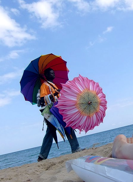 Beach Seashore Vacation Vendor Travel Screens Shad