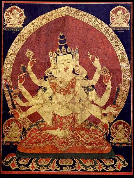 Tibet Buddhism Tibetan 17Th Century Goddess Orient