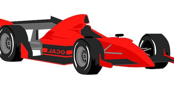 Race Car Traffic Street Transportation Formula For