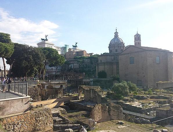 Rome Altare Della Patria Fori Imperiali Monuments