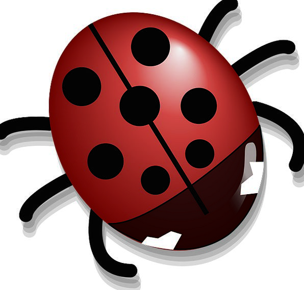 Ladybug Insect Ladybird Free Vector Graphics Cute
