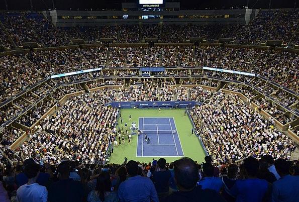 Stadion Tennis Tennis Court Game Audience Spectato