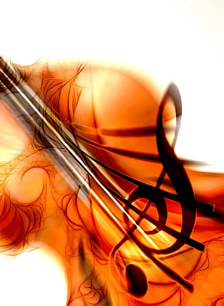 Violin Attend Sound Complete Listen Notenblatt Sou