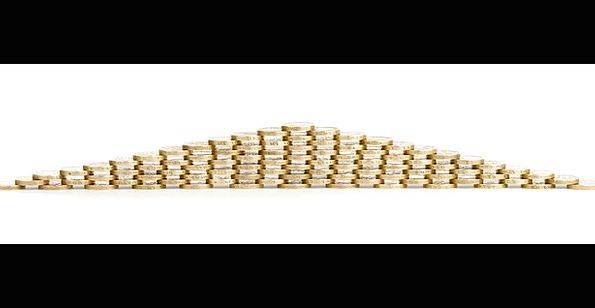 Bank Set Finance Commercial Business Cash Money Bu