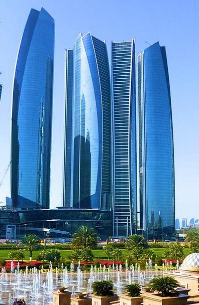 Etihad Towers Skyscraper Tower Abu Dhabi