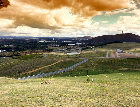 Canberra Landscapes Nature Landscape Scenery Austr