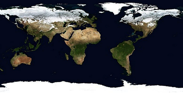 Earth Soil Chart Winter Season Map Seas January At