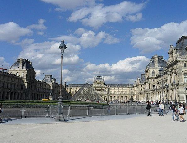 Louvre Buildings Architecture France Paris Tourism