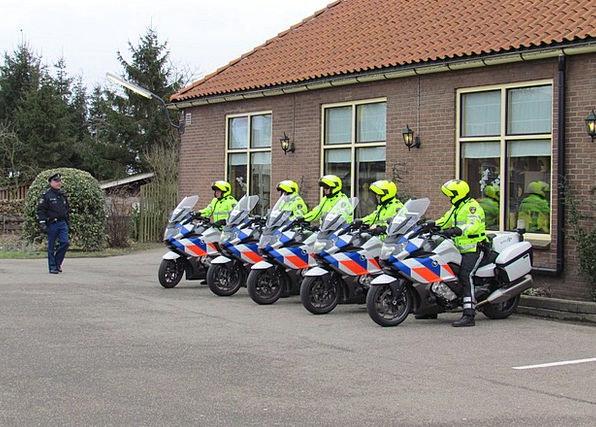 Netherlands Traffic Forces Transportation Motorcyc