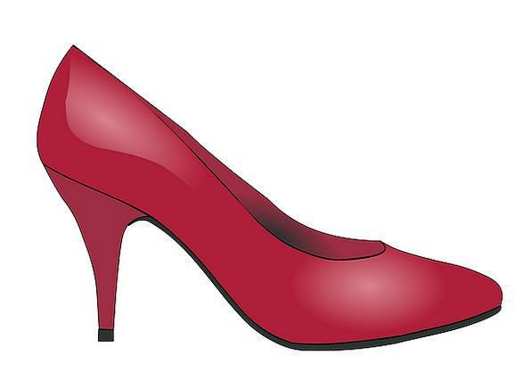 Stilettos Blades Fashion Bloodshot Beauty Shoe Red