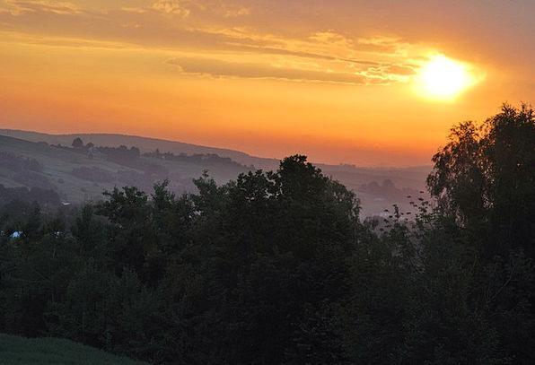 The Sun Vacation Travel Sunset Sundown Evening Sky