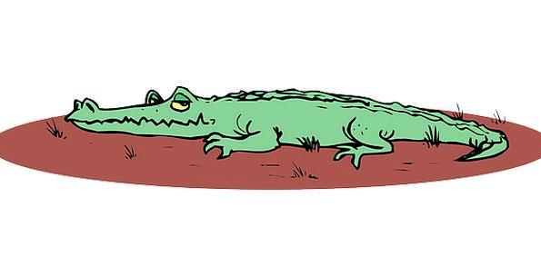 Alligator Mire Ground Crushed Mud Smile Beam Free