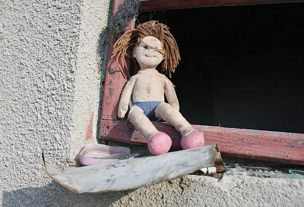 Doll Toy Dolls Ugly Unpleasant Toys Poor Old Ancie