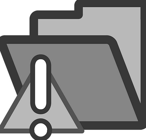 Folder Binder Almanac Warning Cautionary Directory