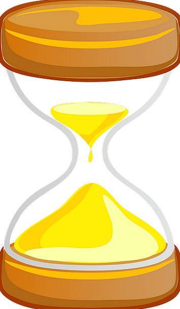 Hourglass Regulator Sand Shingle Timer Urgent Cloc