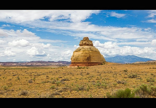 Rock Church Landscapes Nature Utah Usa Southwest N
