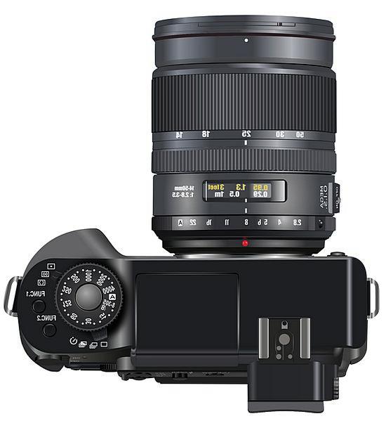 Digital Camera Dark Digicam Black Visual Camera Di
