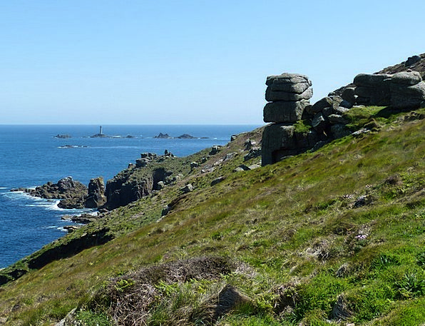 England Landscapes Nature United Kingdom Cornwall