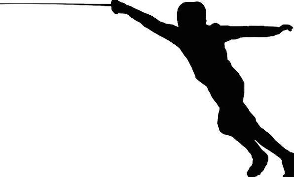 Fencing Fence Fencer Swordsman Foil Fencing Free V