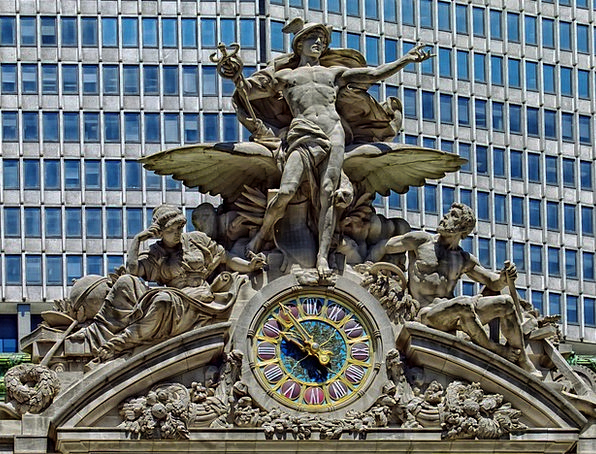 Grand Central Station Monuments Places Cities Metr