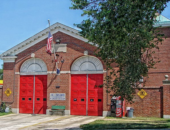 Washington Buildings Architecture Firehouse Americ