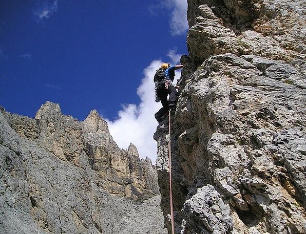 Alpine Climbing Climb Hike Bergsport Hiking Extrem