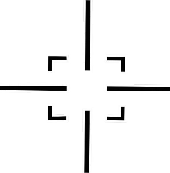 Target Board Possibility Crosshairs Scope War Gun