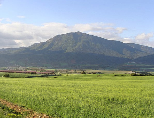 Huesca Santa Cilia Cuculo Mount Base