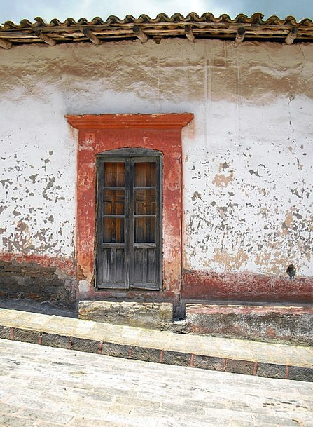 Mexico Buildings Entrance Architecture Old Ancient