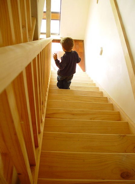 Stair Climb Youngster Learn To Walk Child Small Ch