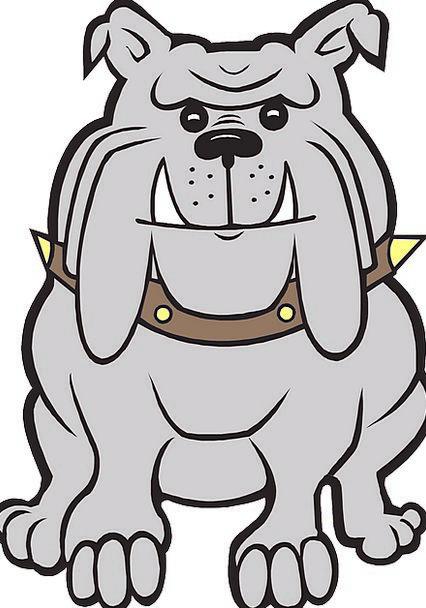 Gray Leaden Content Dog Canine Happy Bulldog Free