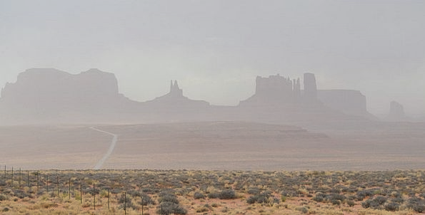 Monument Valley Landscapes Tempest Nature Path Tra