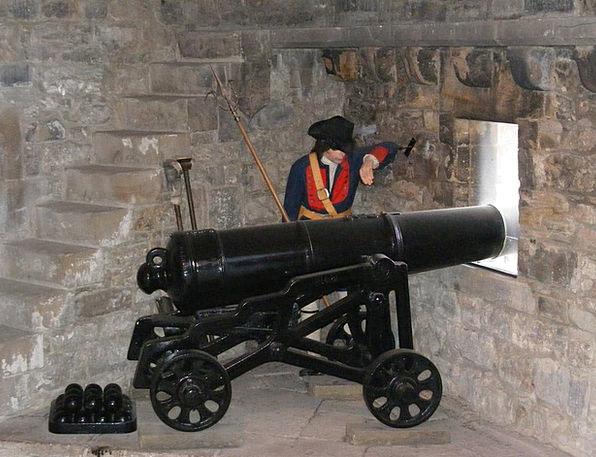 Cannon Firearm Battlements Ramparts Gun Castle For