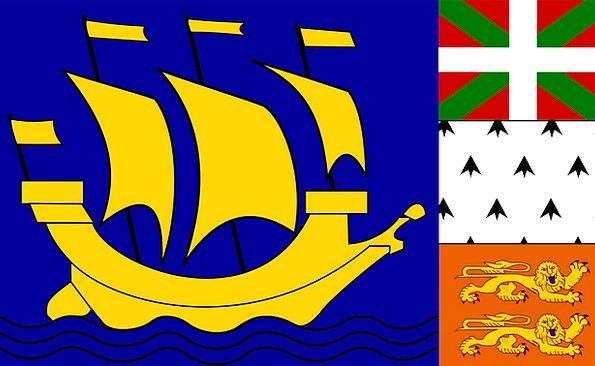 Saint Pierre Standard French Flag Territory Land F