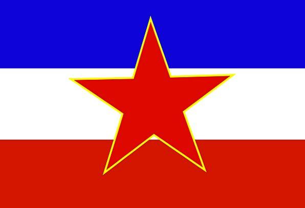Yugoslavia Standard Nonexistent Absent Flag Countr