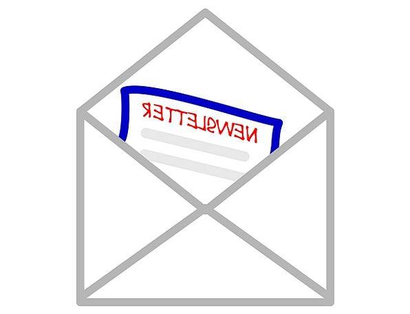 Newsletter Newssheet Communication E Mail Message