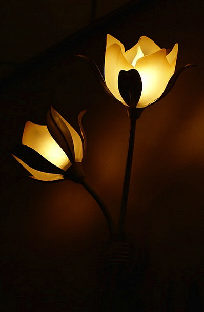 Lamp Uplighter Floret Light Bright Flower Cosy Lam