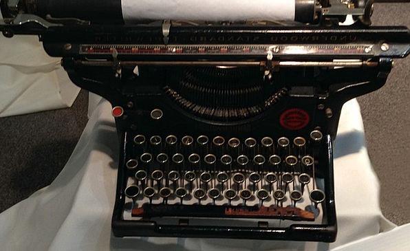 Underwood Antique Typewriter Alphabet Office Equip