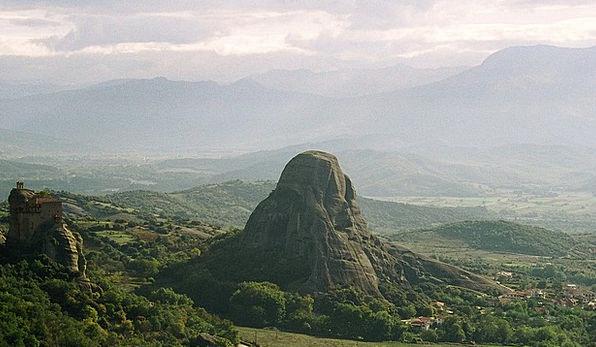 Mountain Crag Landscapes Nature Landscape Greece S
