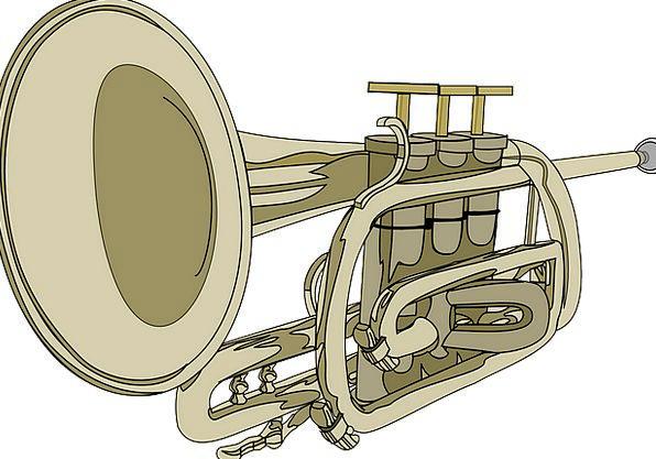 Trumpet Broadcast Siren Musical Instrument Horn Br