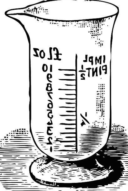 Beaker Cut-glass Cup Mug Glass Research Chemistry