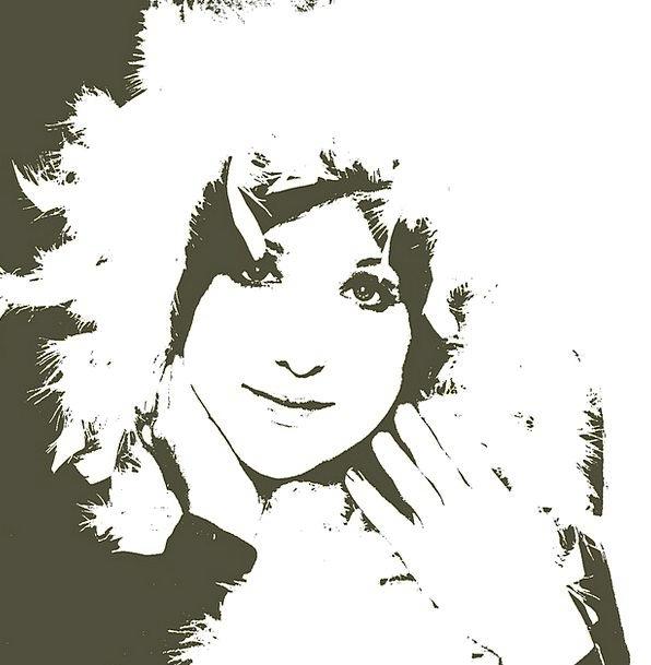 Girl Lassie Lady Ghost Flicker Woman Spirit Soul F